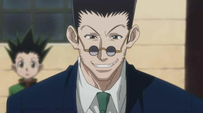 Leorio is listed (or ranked) 4 on the list 14 Anime Characters Who Don't Look Their Age