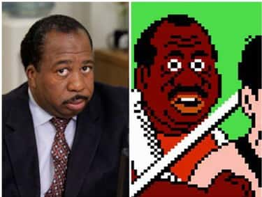 Leslie David Baker and Doc Lew is listed (or ranked) 1 on the list 26 Celebrities Who Look Just Like Video Game Characters