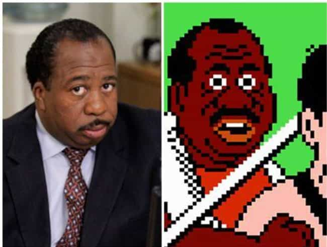 Leslie David Baker is listed (or ranked) 1 on the list 26 Celebrities Who Look Just Like Video Game Characters