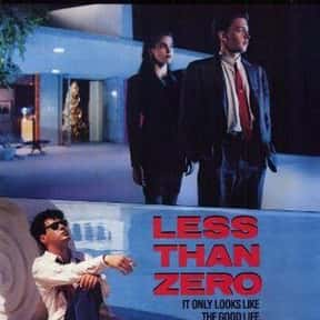 Less Than Zero is listed (or ranked) 17 on the list The Best Robert Downey Jr. Movies