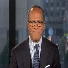 Lester Holt is listed (or ranked) 2 on the list The Most Trustworthy Newscasters on TV Today