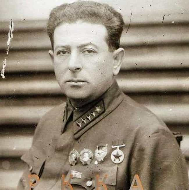 Lev Mekhlis is listed (or ranked) 4 on the list The Worst World War II Generals