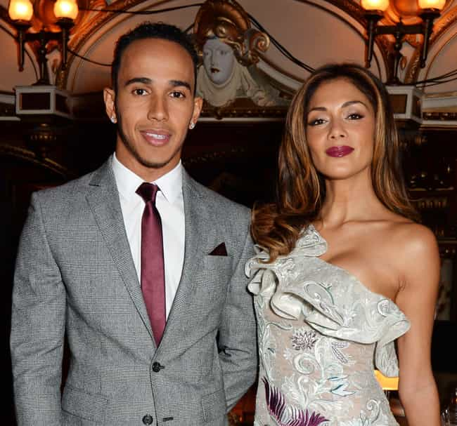 Lewis Hamilton is listed (or ranked) 3 on the list Nicole Scherzinger Loves and Hookups