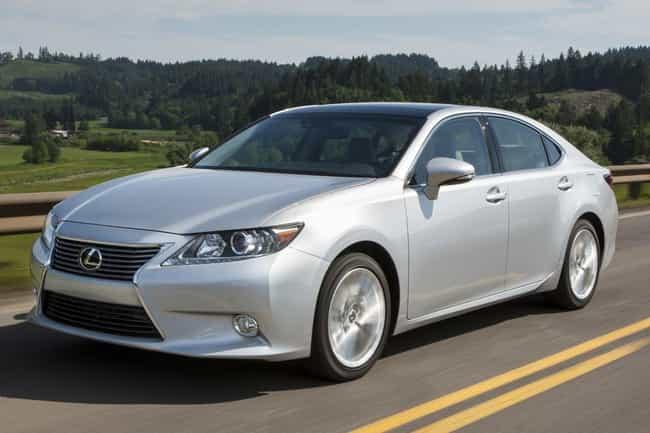 Lexus ES is listed (or ranked) 4 on the list Full List of Lexus Models