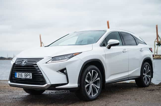 Lexus RX is listed (or ranked) 3 on the list The Best Cars for Senior Citizens