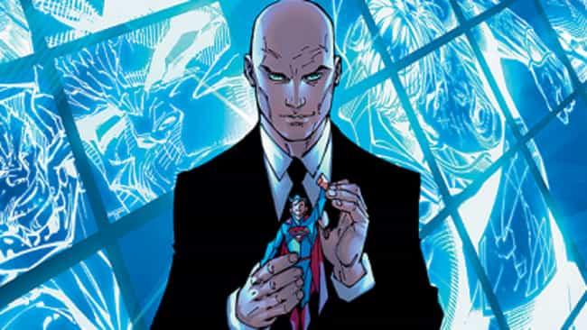 Lex Luthor is listed (or ranked) 2 on the list Popular Comic Book Characters Who Probably Vote Republican