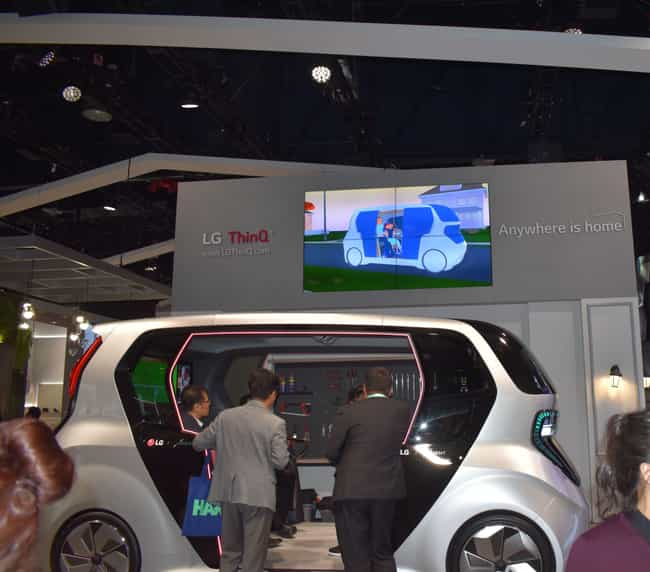 LG Electronics is listed (or ranked) 4 on the list 8 CES 2020 Booths That Blew Us Away