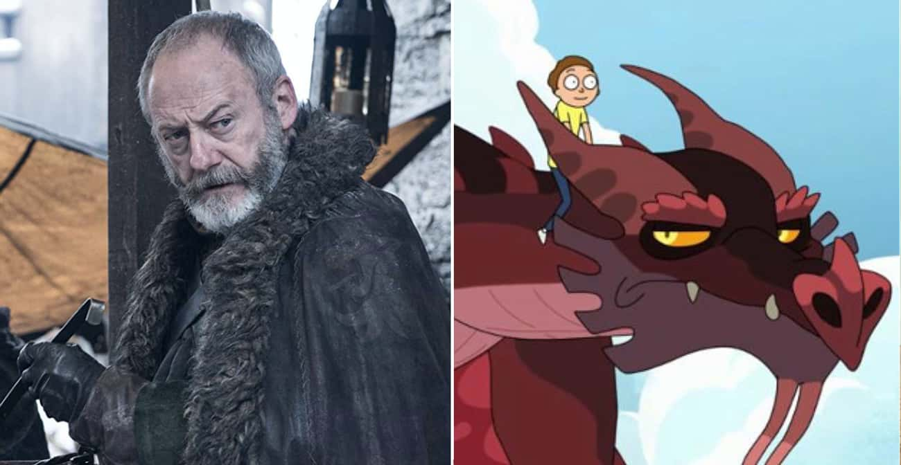 Liam Cunningham is listed (or ranked) 3 on the list The Most Surprising Celebrity Cameos On 'Rick And Morty'