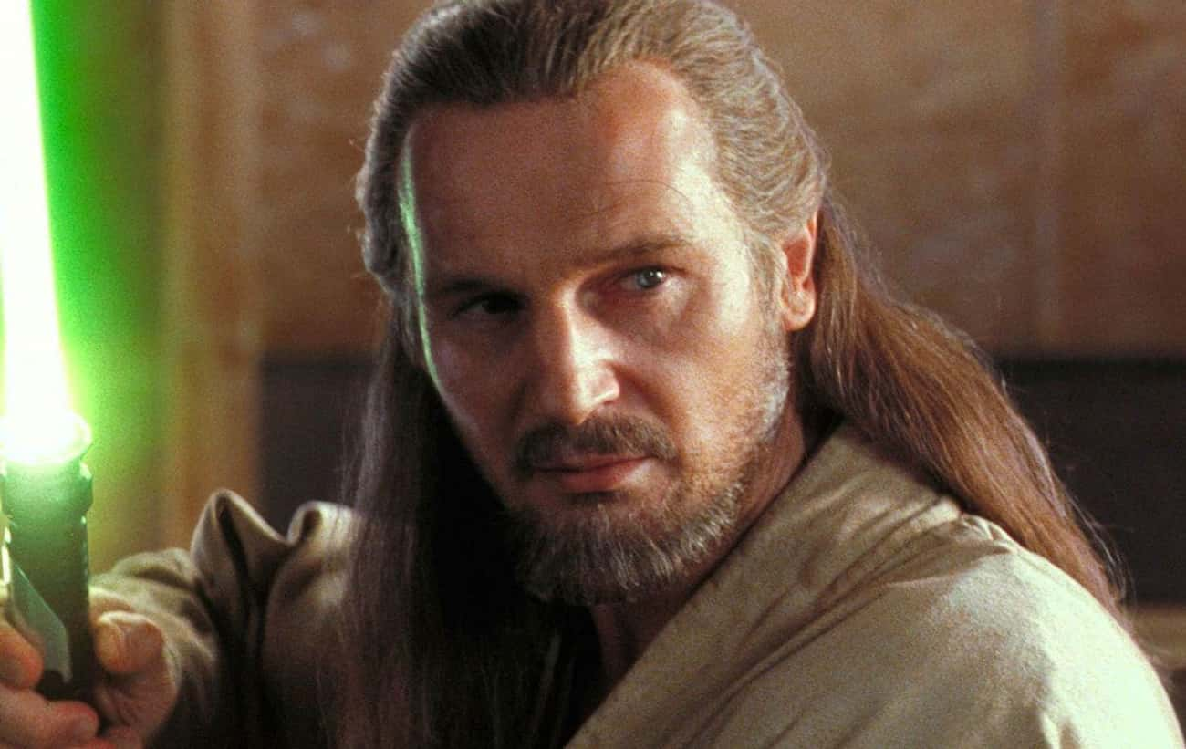 Liam Neeson In 'The Phantom Menace'