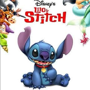 Lilo & Stitch is listed (or ranked) 12 on the list The Best Animated Films Ever