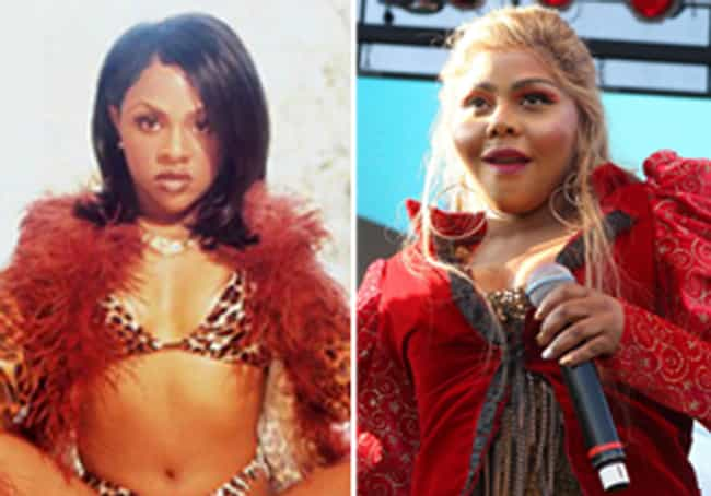 Lil' Kim is listed (or ranked) 4 on the list 27 Celebs Who Lost Their Sex Appeal After Plastic Surgery