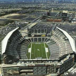 Lincoln Financial Field is listed (or ranked) 3 on the list The Best NFL Stadiums