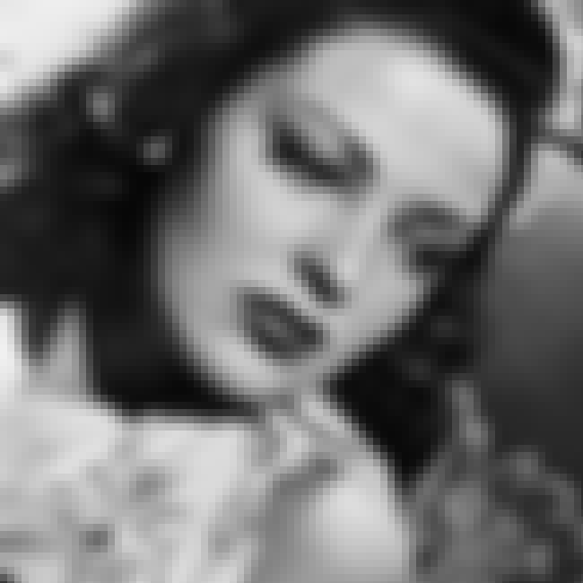 Linda Darnell is listed (or ranked) 6 on the list Howard Hughes' Wives, Girlfriends & Romances