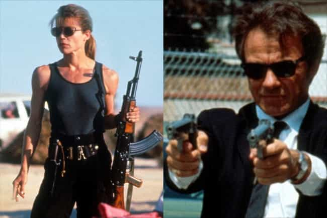Linda Hamilton is listed (or ranked) 3 on the list Who Would Star In A Gender-Swapped 'Reservoir Dogs'?