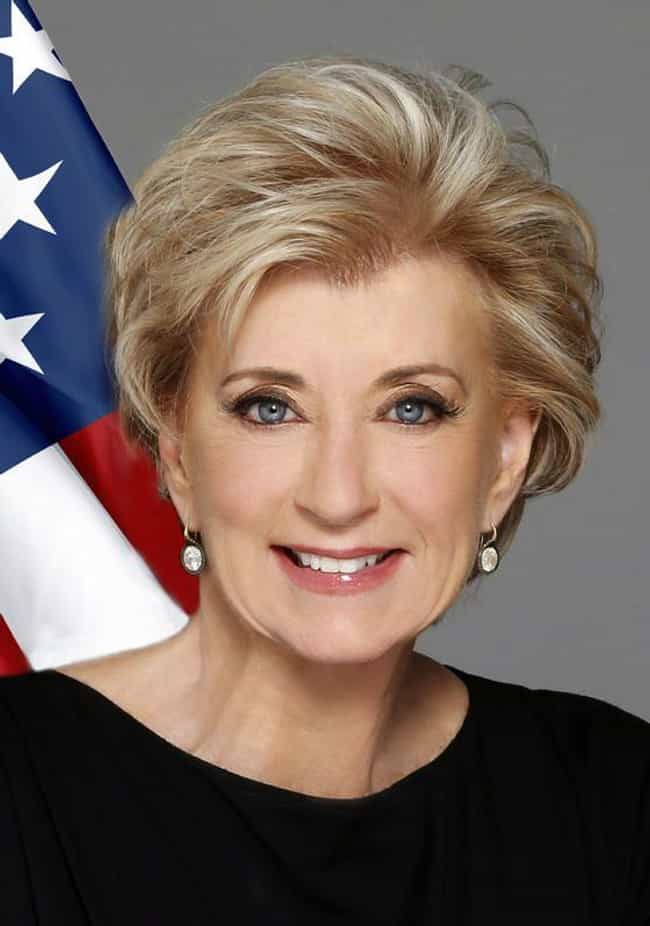 Linda McMahon is listed (or ranked) 4 on the list All The Utterly Bizarre Jobs Trump's Administration Appointees Have Had Before The White House