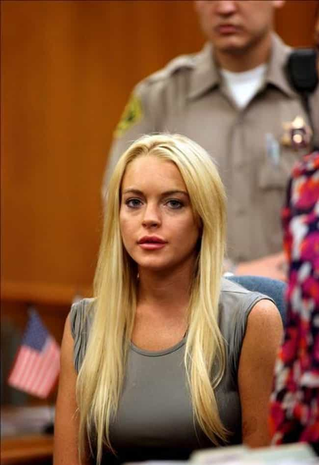 Lindsay Lohan is listed (or ranked) 1 on the list Famous People With Meth Problems