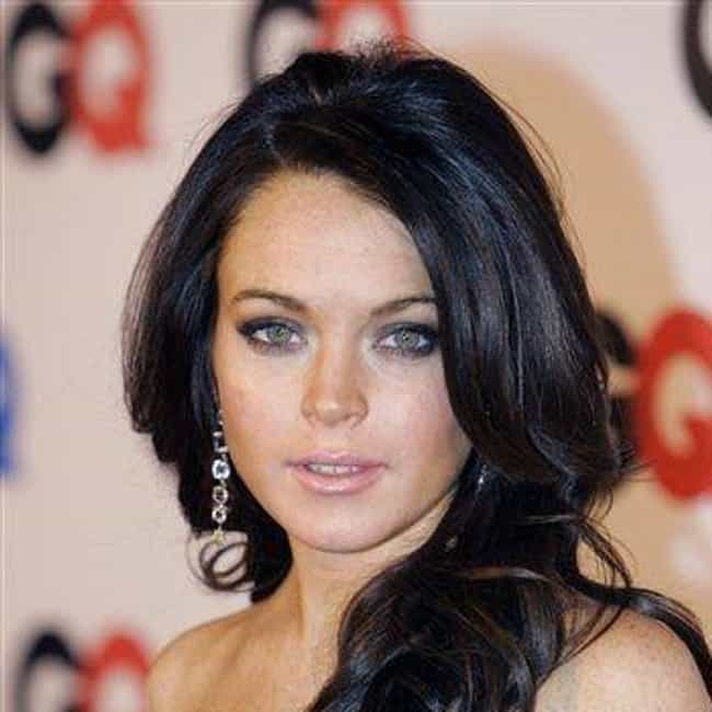 Lindsay Lohan is listed (or ranked) 4 on the list 45 Celebrities Who Dropped Out And Got Their GEDs Instead