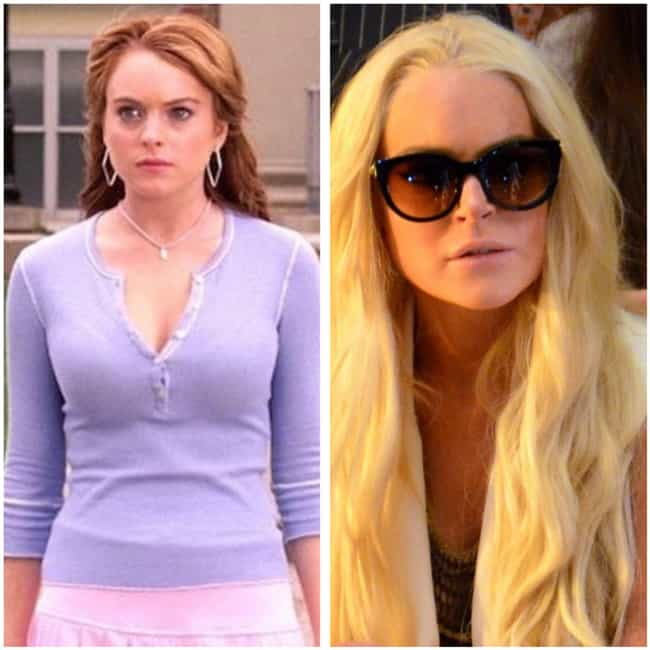 Lindsay Lohan is listed (or ranked) 1 on the list The Cast Of 'Mean Girls': Where Are They Now?