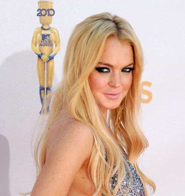 Lindsay Lohan is listed (or ranked) 2 on the list 18 Celebrities Who Have Been Caught Shoplifting