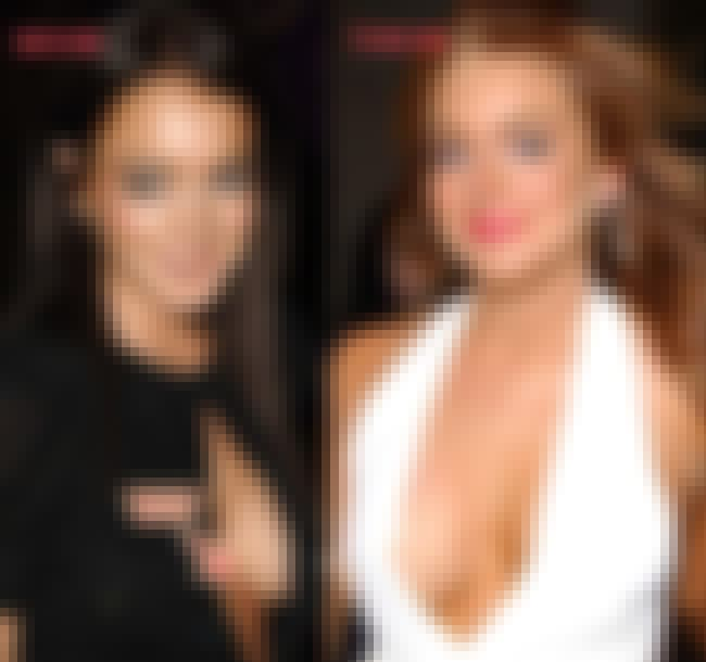 Lindsay Lohan is listed (or ranked) 1 on the list Celebrities with Fake Boobs