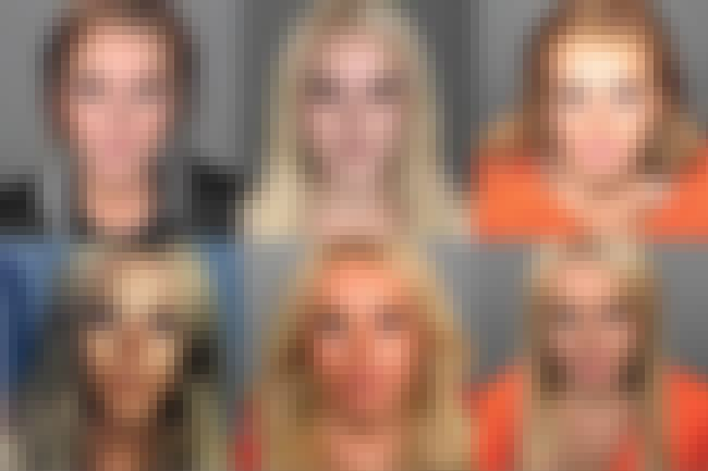 Lindsay Lohan is listed (or ranked) 2 on the list Full List of All Celebrity Mug Shots