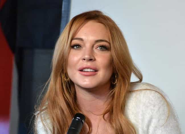 Lindsay Lohan is listed (or ranked) 1 on the list Celebrities Who Are Trying To Get Sober Through AA