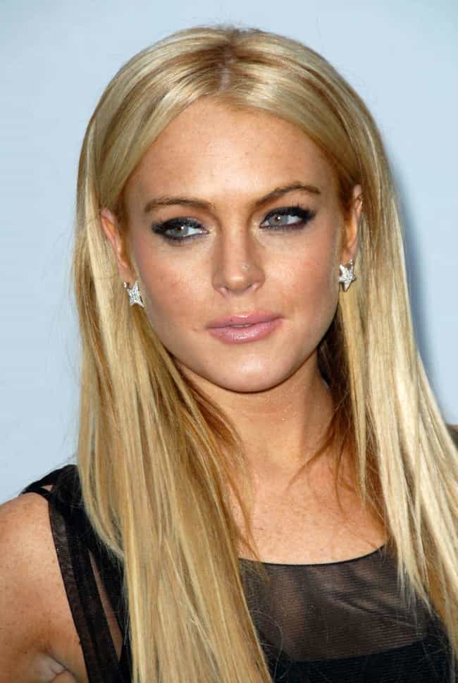 Lindsay Lohan is listed (or ranked) 4 on the list Famous Female Models