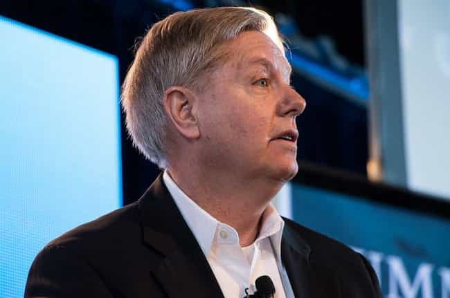 Lindsey Graham is listed (or ranked) 1 on the list 22 Celebrities Who Were in Pi Kappa Phi