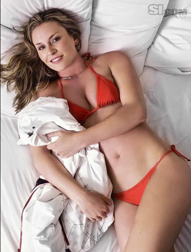 Lindsey Vonn is listed (or ranked) 3 on the list America's Most Attractive Female Athletes