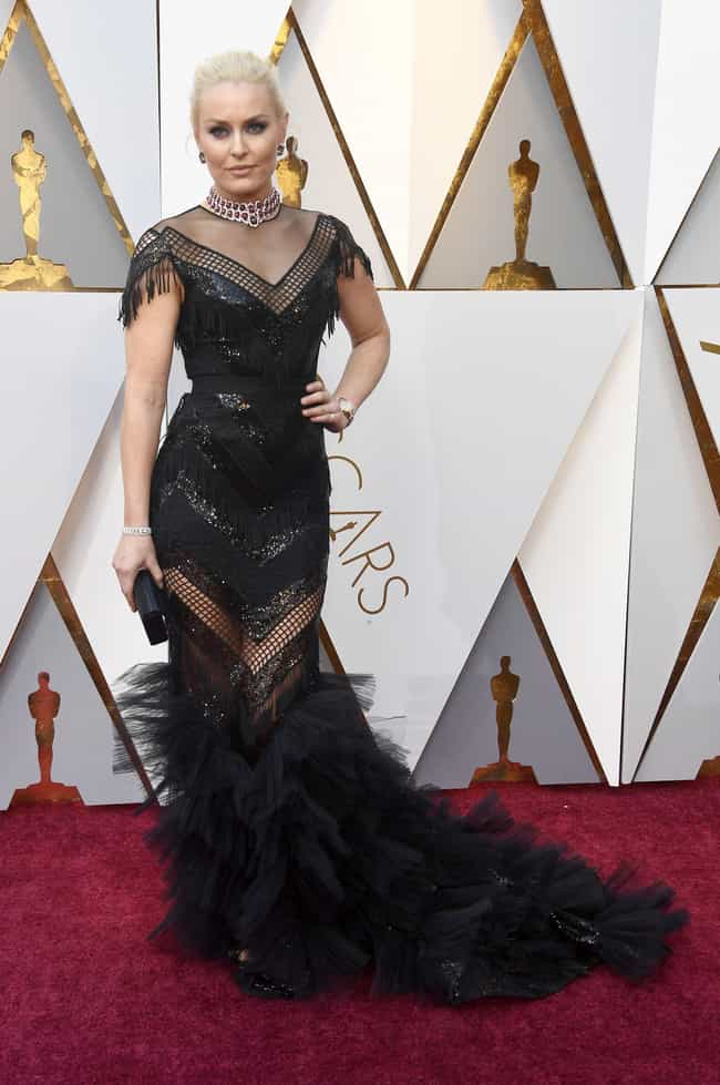 Lindsey Vonn is listed (or ranked) 8 on the list Worst Dressed At The 2018 Academy Awards
