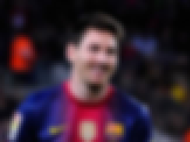 Lionel Messi is listed (or ranked) 4 on the list 26 Athletes Who Quit Smoking