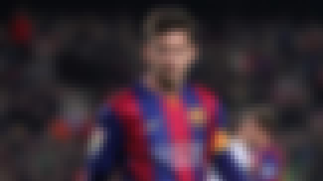 Lionel Messi is listed (or ranked) 1 on the list List of Famous Footballers