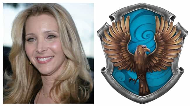 Lisa Kudrow is listed (or ranked) 8 on the list Which Hogwarts Houses Would Celebrities Be Sorted Into?