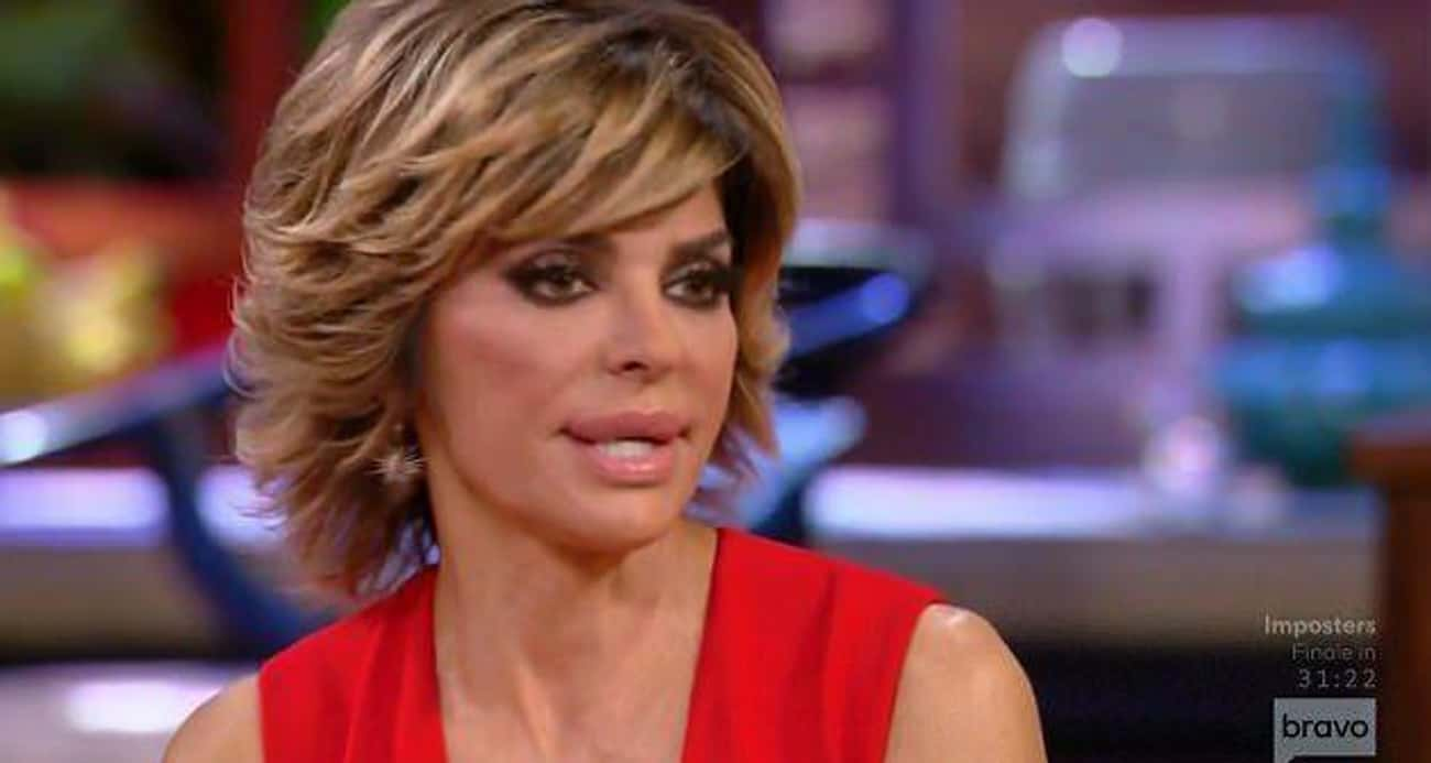 "Lisa Rinna Was Told To Bend Over ""For A Quickie"""