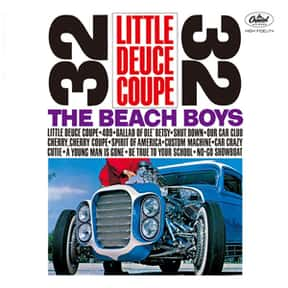 Little Deuce Coupe is listed (or ranked) 17 on the list The Best Beach Boys Albums of All Time