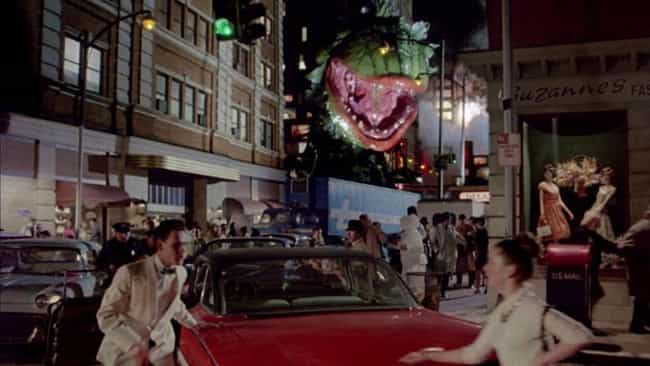 Little Shop of Horrors ... is listed (or ranked) 4 on the list Movies That Completely Changed Their Endings After Everyone Freaked Out