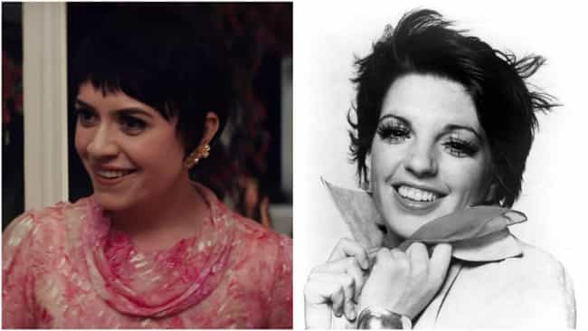 Liza Minnelli is listed (or ranked) 4 on the list 'Judy' Actors Vs. The Real-Life People They're Portraying