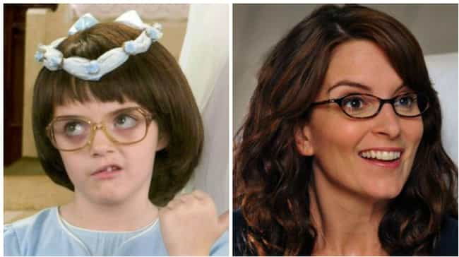 Liz Lemon is listed (or ranked) 4 on the list Actors Who Played the Same Character at Different Ages