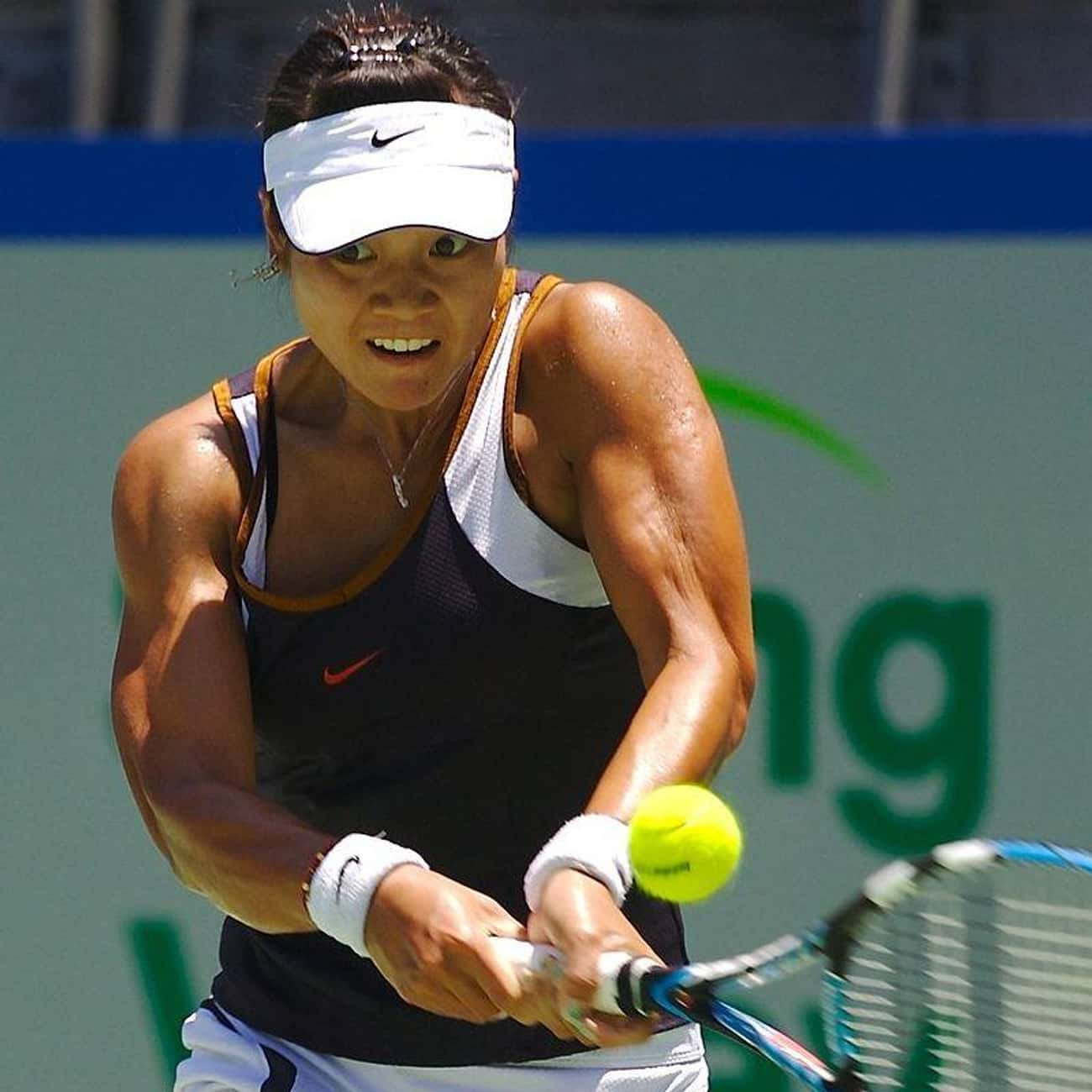 Li Na is listed (or ranked) 1 on the list The Best Tennis Players from China