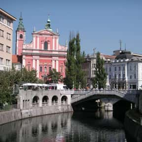 Ljubljana is listed (or ranked) 9 on the list The Best Spring Break Destinations