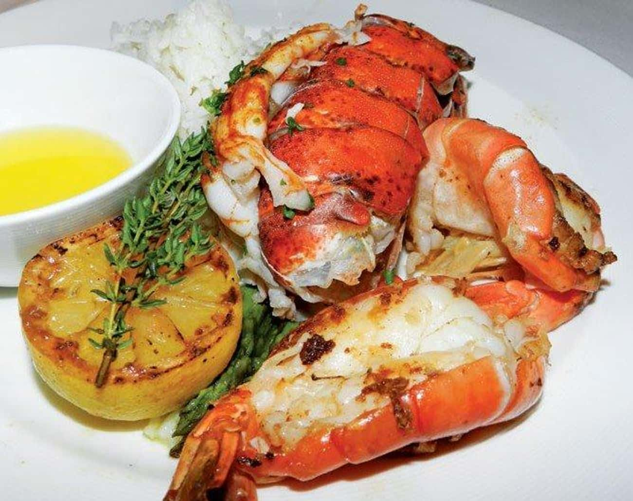Lobster is listed (or ranked) 3 on the list The Best (Non-Fish) Seafood, Ranked