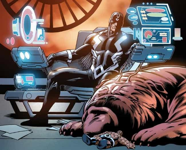 Lockjaw is listed (or ranked) 3 on the list The Best Comic Book Animal Companions