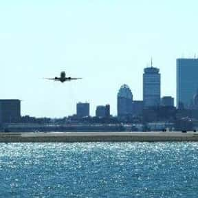 Logan International Airport is listed (or ranked) 24 on the list The Best U.S. Airports