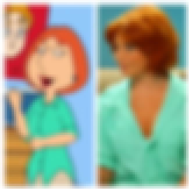 Lois Griffin is listed (or ranked) 3 on the list 44+ Celebrities and Their Porn Parody Counterparts