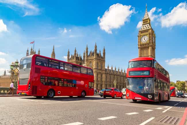 London is listed (or ranked) 1 on the list The Best Travel Destinations For Your Zodiac Sign