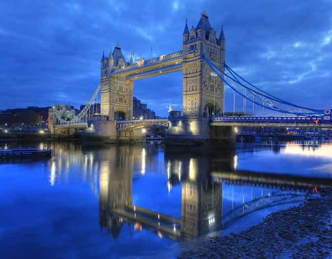 London is listed (or ranked) 1 on the list The Most Magical Cities in the World