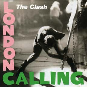 London Calling is listed (or ranked) 16 on the list My Top 50 Albums Of The 80's (At The Time)