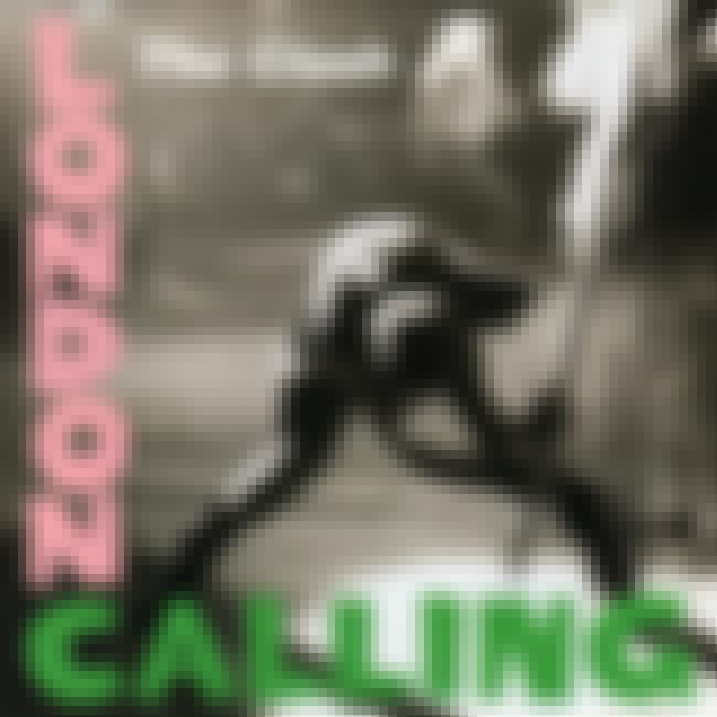 London Calling is listed (or ranked) 6 on the list The Greatest Album Covers