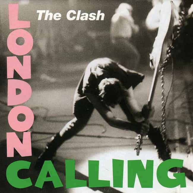 London Calling is listed (or ranked) 7 on the list The Greatest Album Covers of All Time
