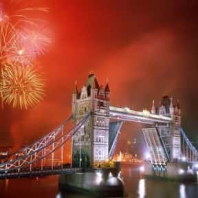London is listed (or ranked) 18 on the list The Best Cities to Party in for New Years Eve